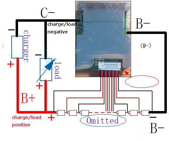 7 S 30A lipo lithium Polymer BMS/PCM/PCB ban bảo vệ pin cho 7 Gói 18650 Li-Ion e-bike Pin Di Động w/cân bằng