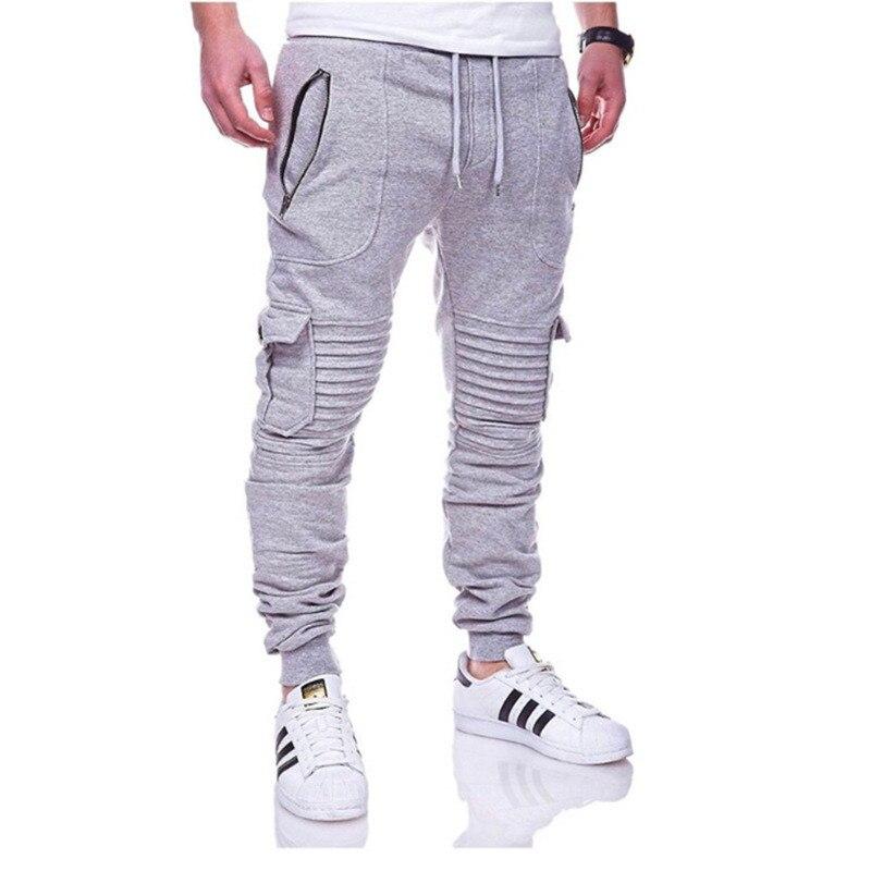 Men's Camo Jogging Pants Men Bodybuilding Gym Pants Military Pants Men's Autumn Sports Slim Camo Pants Multi-pocket Trousers
