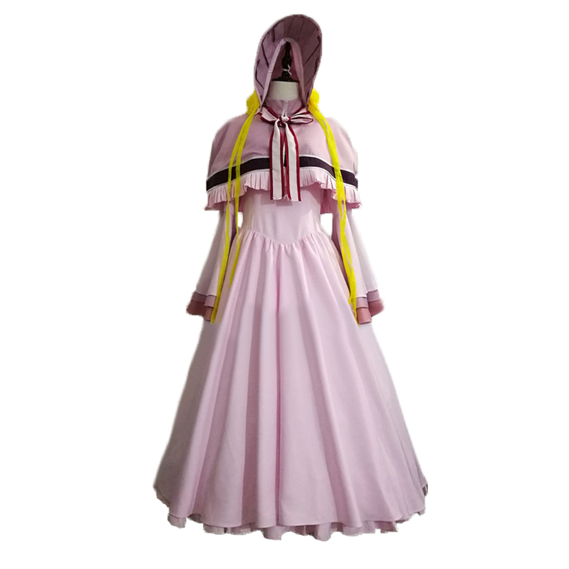 The Ancient Magus Bride Mahou Tsukai no Yome Silver Lady Silky Cosplay Costume C018