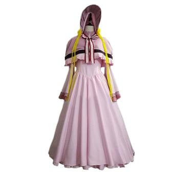 The Ancient Magus Bride Mahou Tsukai no Yome Silver Lady Silky Cosplay Costume C018