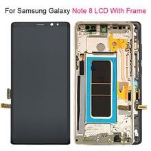 "6.3 ""LCD ekran SAMSUNG GALAXY not 8 için N950 N950F SM N950F LCD dokunmatik ekran Digitizer ile SAMSUNG GALAXY not 8 için LCD"