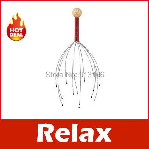 Head Neck Scalp Equipment Stress Relax Massage Massager