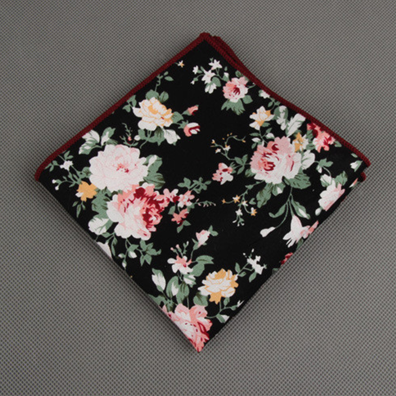 how to make a square towel wedding cake aliexpress buy fashion floral printed hankies for 15856