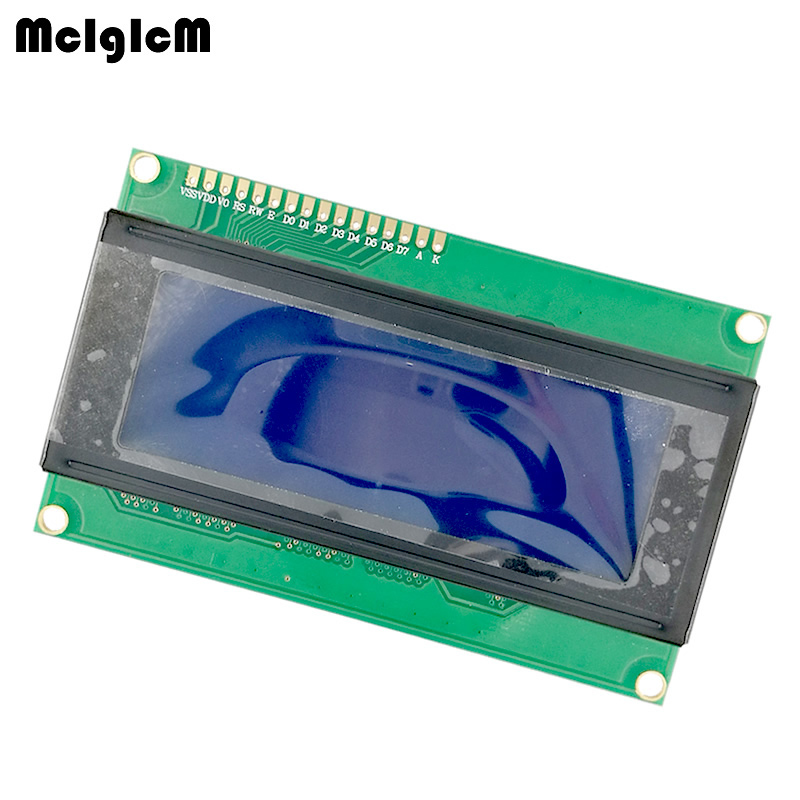 MCIGICM 20pcs LCD Board 2004 20*4 LCD 20X4 5V Blue Screen Blacklight LCD2004 Display LCD Module LCD 2004