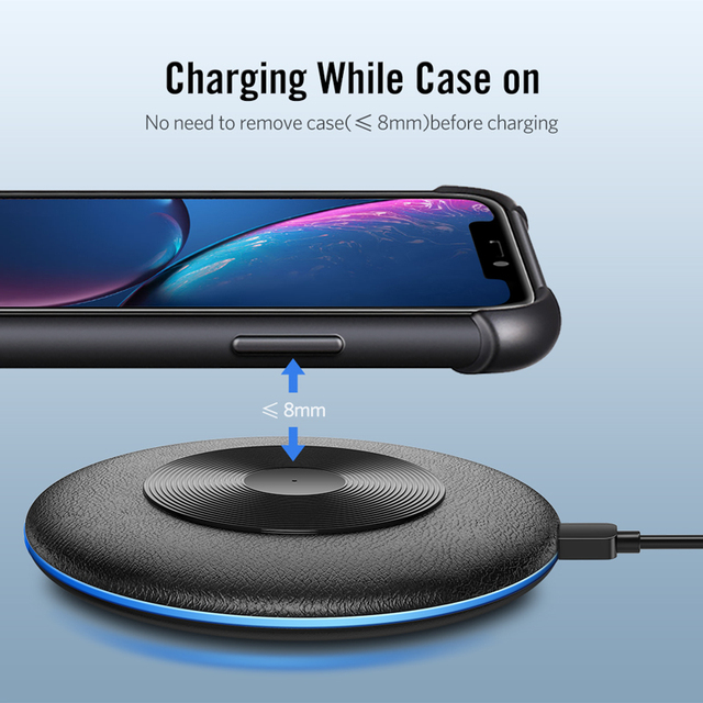 Wireless Fast Charger for iphone and samsung 4