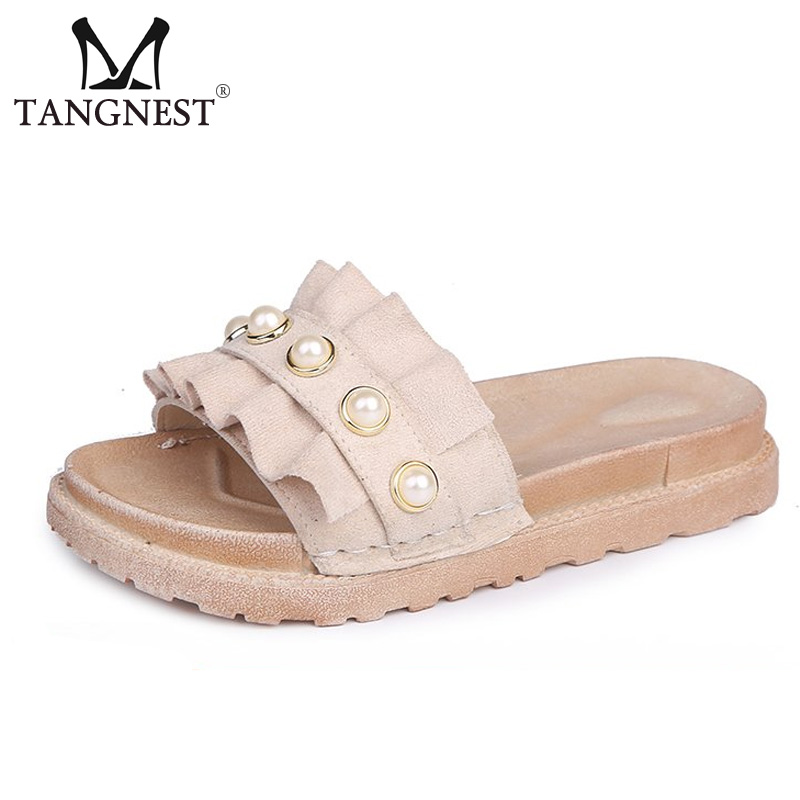 1e5166617c98 Tangnest-Women-Summer-Flock-Slippers-Platform-Shoes-Charm -Pearls-Ruffles-Beach-Slides-Outdoor-Casual-Women-Sandals.jpg