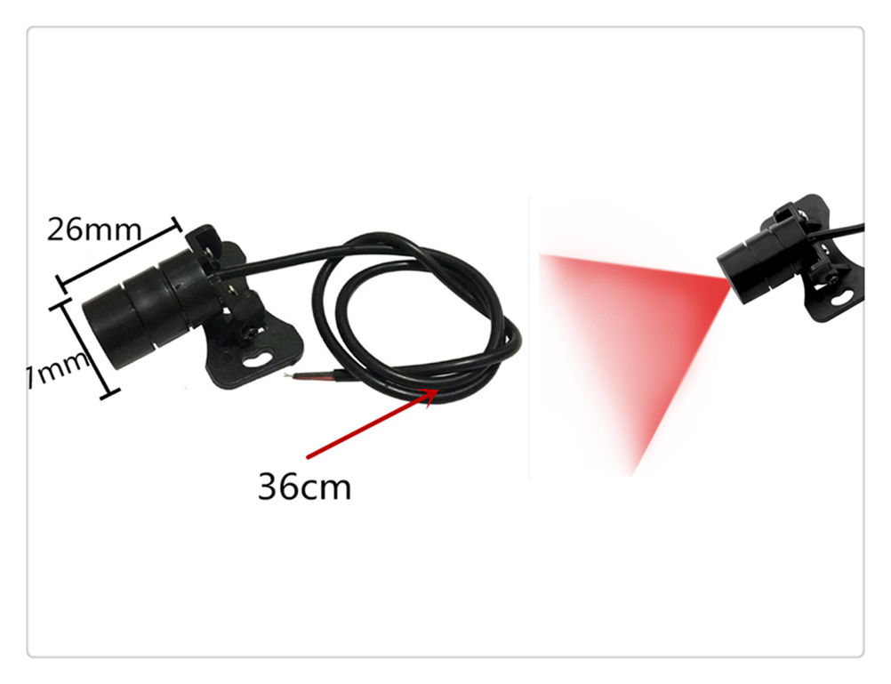Motorcycle <font><b>accessories</b></font> laser fog anti-collision tail light warning for <font><b>YAMAHA</b></font> YZF 600R Thundercat R1 R6 R25 R3 FZ1 FAZER <font><b>FZS</b></font> image