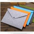 Простая А4 большая емкость блокнот для документов Бизнес Портфель папки для файлов химический войлок для документов 5 цветов в наличии