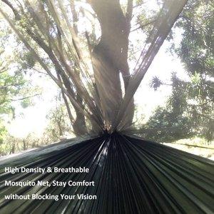 Image 3 - עמיד ערסל אוהל חוזק גבוהה מצנח בד תליית מיטת שינה עם כילה עבור חיצוני קמפינג נסיעות הישרדות