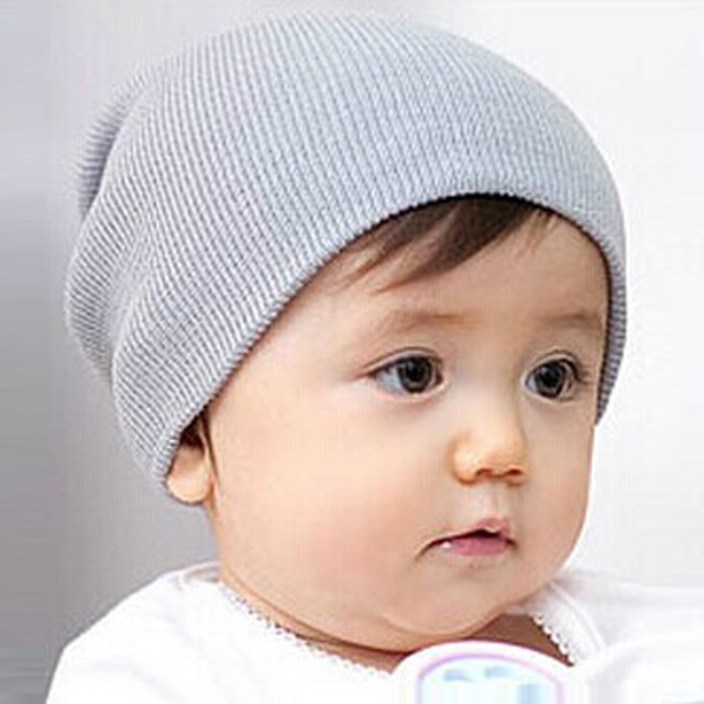 Cappello del bambino Chapeau Enfant Cappellini Neonato Del Bambino Delle  Ragazze del Ragazzo Morbido Del Bambino 034c538e0eba