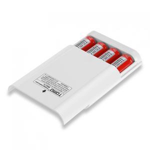 Image 5 - טומו P4 USB ליתיום אינטליגנטי סוללה מטען DIY נייד כוח בנק מקרה תמיכה 4x18650 סוללות ויציאות טלפון