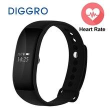 V66 Bluetooth Smartwatch Sport Montre Smart Watch IP67 Étanche Moniteur de Fréquence Cardiaque Bracelet de Santé à Puce Bracelet pour Android IOS