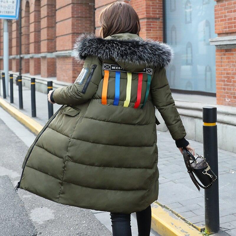 Rembourré army Green Haute Nouvelles Vêtements Grande Mince De Taille Lcy152 Coton Outwear 2018 Femmes D'hiver Chaud Manteau Qualité Épaissie Veste Black R7dn0Hqw