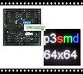 Alta qualidade shenzhen preço de atacado de P3 SMD interior Full Color 1/32 varredura 192*192mm Led screen Display módulo