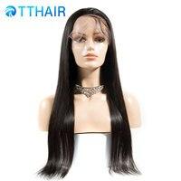 360 Синтетические волосы на кружеве al парик бразильский Реми прямой парик 360 Синтетические волосы на кружеве натуральные волосы парики для ч