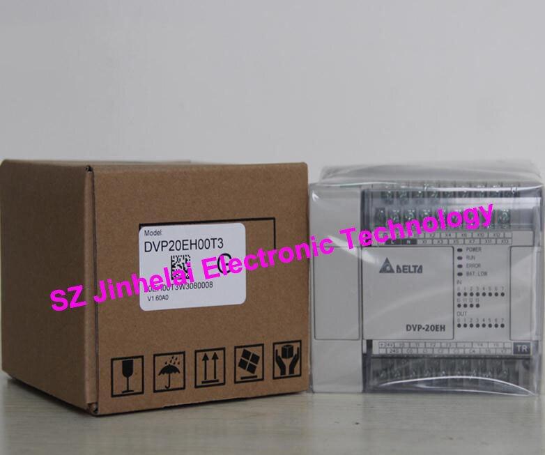 100% New and original DVP20EH00T3, DVP20EH00R3 Delta PLC  20points host,12DI/8DO new original dvp48eh00t2 delta plc