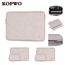 KOPWO 2 in 1 Laptop Liner Sleeve Bag Shockproof Notebook Bag for Apple Macbook Air Pro Retina 13.3 15.4 14 Inch A1990 A1707