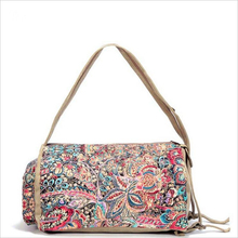 2016 Fashion Woman Handbags Multifunction Canvas Woman Shoulder Bag Printing Canvas Woman back Bag 2BS43
