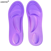 4d Massage Sponge Shoe Sole Absorbent Breathable Insole Health Shoe Pad Super Soft Anti Pain Cushioning