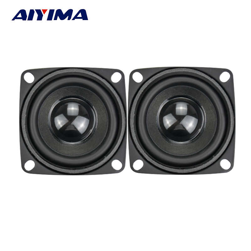 AIYIMA 2 قطعة مضخم صوت HIFI 2 بوصة 4Ohm 5 واط كامل المدى المتكلم مكبر صوت صغير مكبرات الصوت لتقوم بها بنفسك الصوت مضخم الصوت مكبر الصوت