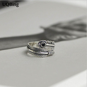925 Sterling Silver Retro Feat