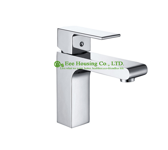 Free Shipping Brass Single-hole Basin Mixer,bathroom Faucet,chrome Finished,bathroom Accessories