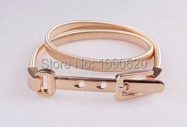 3149f2fa9ae Élastique chaîne de ventre en métal de femmes décoration or d une seule  pièce robe