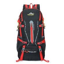 45L Backpack Rucksack Leisure Travel Bag Man Backpack Polyester Bags Waterproof Women Travel School Shoulder Computer Bags