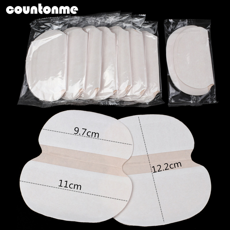 Summer Sweat Pads 200/300Pcs Underarm Sweat Pad For Clothing Adhesive Armpit  Deodorant Shield Stickers Absorbent Pads Big Size