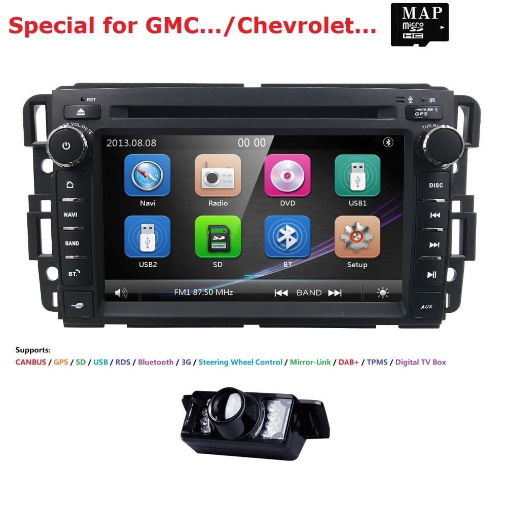 Car DVD GPS Stereo Radio Nav For GMC Yukon Sierra