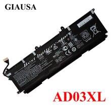 GIAUSA Genuíno AD03XL HSTNN-DB8D AD03 Bateria para HP 921439-855 921409-271 bateria