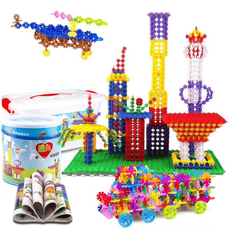 Sammeln & Seltenes GüNstig Einkaufen 500 Stücke Puzzle Frühen Bildung Schneeflocke Spielzeug Diy Kinder Kunststoff Montiert Block Spielzeug Weihnachten Geschenke Phantasie Farben Miteinander Verbundene Blöcke