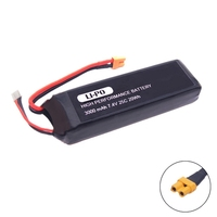 Saleaman 1PC 7.4V 3000mAh upgrade Battery for mjx B3 Bugs 3 Force1 F100 Contixo F17 RC quadcopter drone spare parts RC Parts