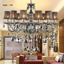 Large Modern Chandeliers Indoor Home Lighting Kitchen Bedroom Dining Room Chandelier Lustre De Sala K9 Crystal