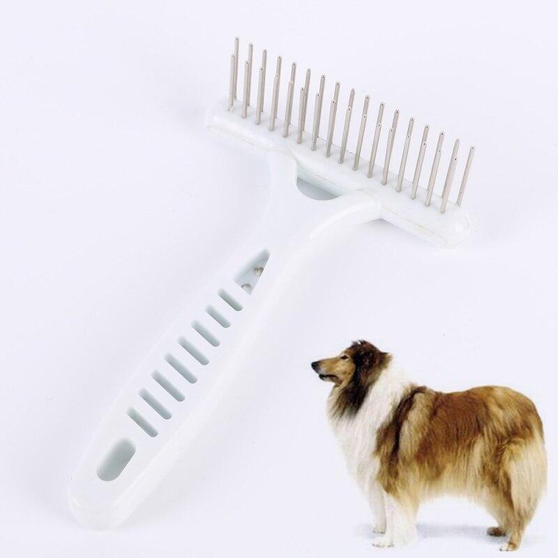 Hot Sales New Pets Dog Cat Long Short Thick Hair Fur Shedding Remove Grooming Rake Comb Brush
