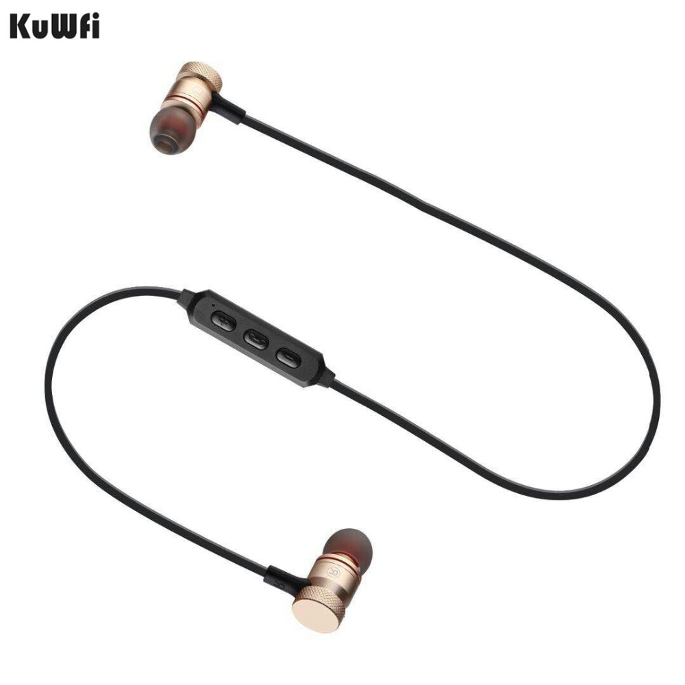 Ultimate Sale®Kuwfi Headset Earphone Bluetooth Wireless Earbuds Can-Be-Locked Easy-Carry Universal¾