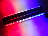 18 High Power 36 LED Double Side Top Emergency Car Truck Flashing Strobe Working Light 108W