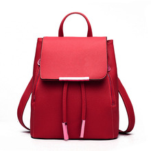 2017 Designer Pu Leather Women Backpack Bag At Adolescent Girls High Quality Female Bag Backpack To Travel