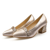 2018Rough With Gold s Shoes, Casual Sequins, Women Shoes