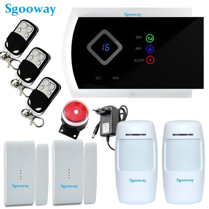 cobertizo blanco garaje PIR Detector de movimiento inal/ámbrico con sistema de alarma y alarma con teclado de seguridad para puerta de casa