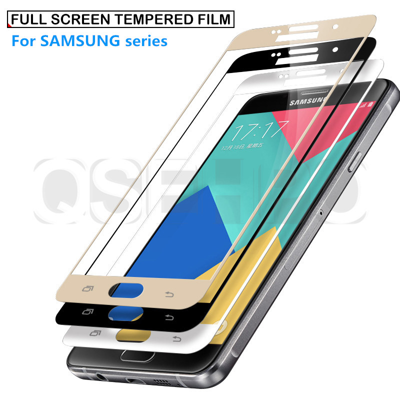 Glass Film DESHENG Clear Screen Protector 25 PCS AG Matte Anti Blue Light Full Cover Tempered Glass for Galaxy A8 2018