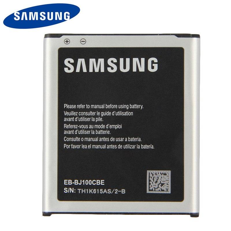 Original Samsung High Quality EB-BJ100BBE Battery For Galaxy J1 j100 J100F /D J100H J100FN J100M EB-BJ100CBE NFC 1850mAh