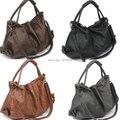 Fashion Korean Style Lady Women PU Leather Handbag Single Shoulder Bag 4 Colors BS88
