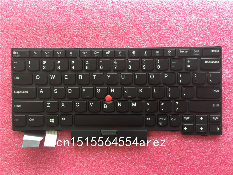 New Original laptop Lenovo ThinkPad X280 no Backlit Keyboard with Trackpoint US English 01YP080 01YP000 new us for lenovo ibm thinkpad t470 us laptop keyboard black no backlit