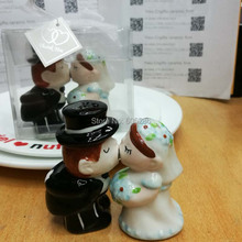 Розничная свадебные подарки керамические Солонка и перца шейкеры Рождество День рождения праздничные сувениры