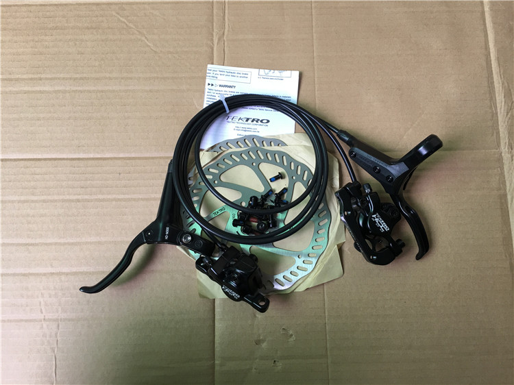 MTB Bike Hydraulic Brake Kit Tektro HD-M300  Disc Brake 750/1350mm Hydraulic Disc Brake Groupset Oil Dish