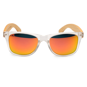 Image 3 - BOBO BIRD Unisex kare güneş gözlüğü kadın polarize ahşap güneş gözlüğü şeffaf renk erkekler gözlük lunette de soleil femme