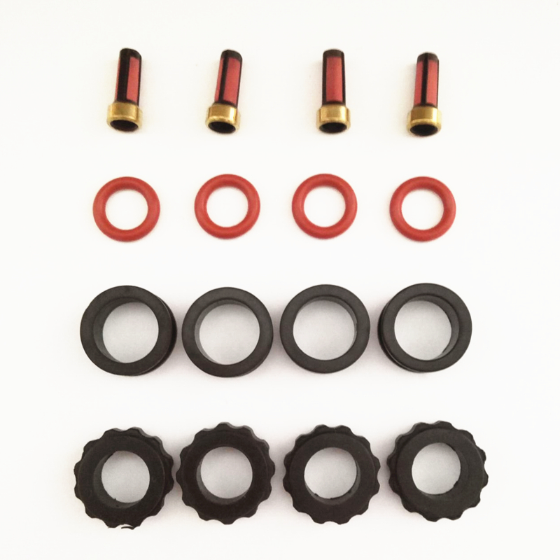 UPPER SPACER AND MORE REBUILT KIT FOR HONDA CRV INJECTOR NEW FILTERS O-RINGS
