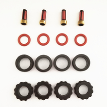4set fuel injector repair kits for INP780 INP781 780033R 78102YN Fit for Mazda 626 2.0 protege 1.8 (AY-RK066)