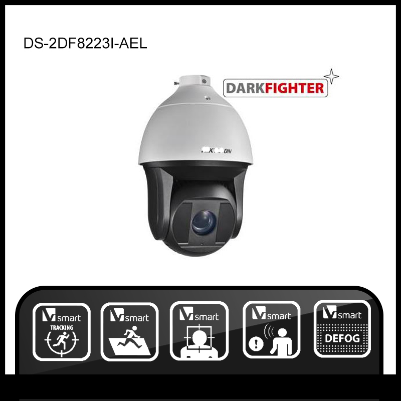 Hikvision  DS-2DF8223I-AEL Original English version 2MP IP camera CCTV security camera   Surveillance POE ONVIF 4K HD network hikvision ds 2ae5123t a original english version 2mp ptz ip camera cctv security camera surveillance poe onvif 4k hd network